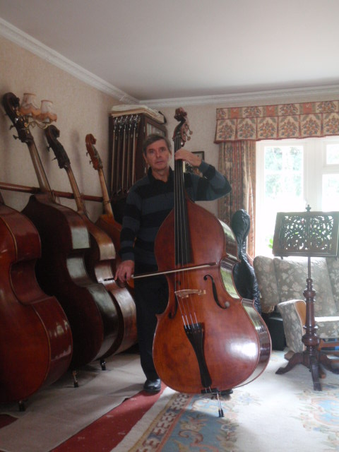 Malcolm with double bass